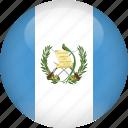country, flag, guatemala