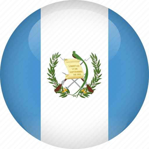 country, flag, guatemala icon