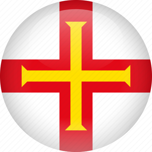 country, flag, guernsey icon