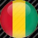 country, flag, guinea