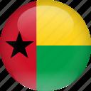 bissau, country, flag, guinea