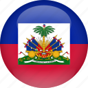 country, flag, haiti