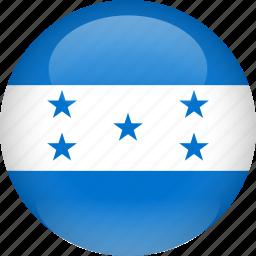 country, flag, honduras icon