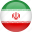 country, flag, iran icon