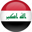 country, flag, iraq