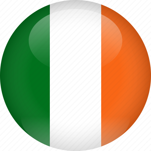 country, flag, ireland icon