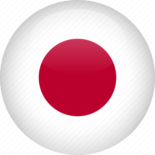 country, flag, japan icon