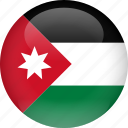 country, flag, jordan