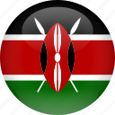 country, flag, kenya