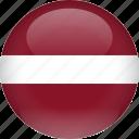 country, flag, latvia