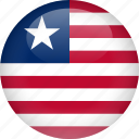 country, flag, liberia