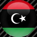 country, flag, libya