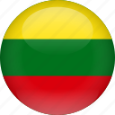 country, flag, lithuania