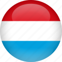 country, flag, luxembourg icon