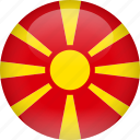 country, flag, macedonia
