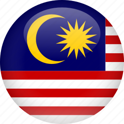 country, flag, malaysia icon