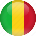 country, flag, mali icon