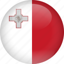 country, flag, malta icon