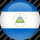 country, flag, nicaragua icon