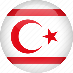 country, cyprus, flag, northern icon