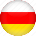 country, flag, ossetia icon