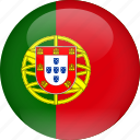 country, flag, portugal
