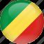 congo, country, flag, republic, republic of the congo icon