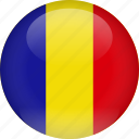 country, flag, romania