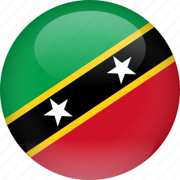 country, flag, kitts, nevis, saint, saint kitts and nevis icon