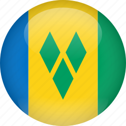 country, flag, grenadines, saint, saint vincent and the grenadines, vincent icon
