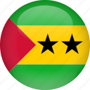 country, flag, principe, sao, sao tome and principe, tome icon