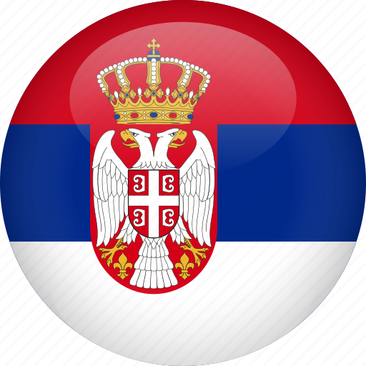 country, flag, serbia icon