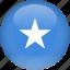 country, flag, somalia icon