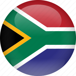 africa, country, flag, south africa icon