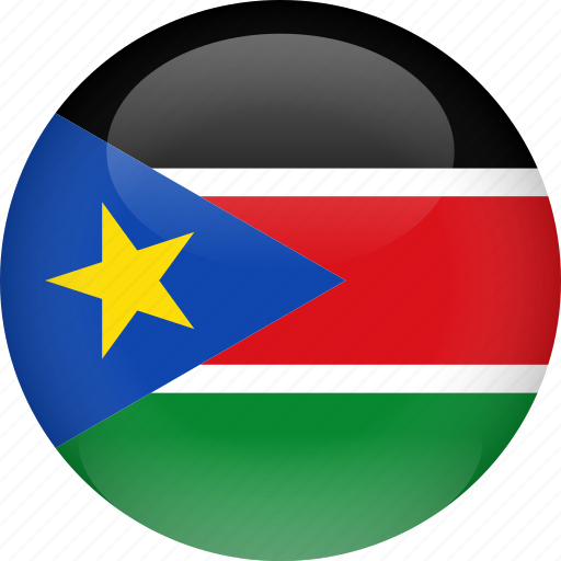 country, flag, south, sudan icon