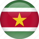 country, flag, suriname