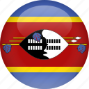 country, flag, swaziland