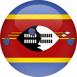 country, flag, swaziland icon