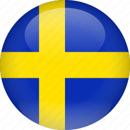 country, flag, sweden icon
