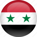 country, flag, syria