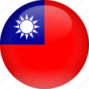 country, flag, taiwan