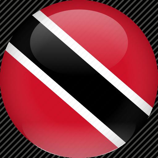 country, flag, tobago, trinidad, trinidad and tobago icon
