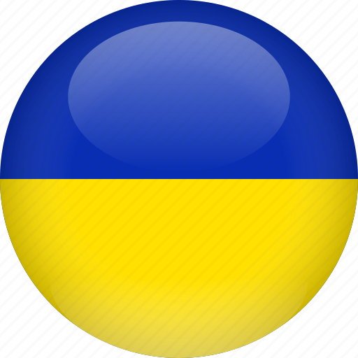 country, flag, ukraine icon