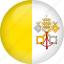 country, flag, vatican icon