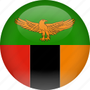 country, flag, zambia