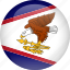 american, country, flag, samoa icon