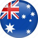 australia, country, flag
