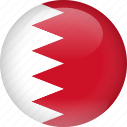bahrain, country, flag icon