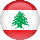 country, flag, lebanon