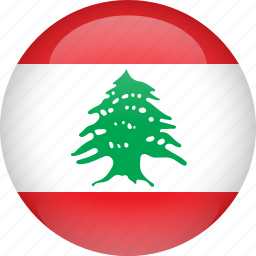 country, flag, lebanon icon